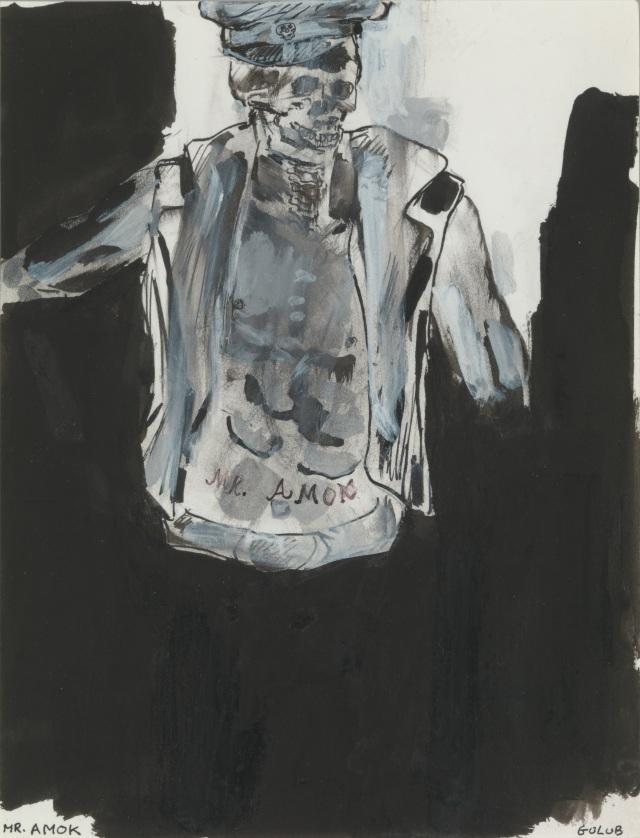 13. Leon Golub. Mr. Amok. 1994.jpg